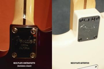 Riconoscere una chitarra contraffatta